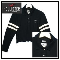 Hollister Co. Long Sleeves Polo Shirts