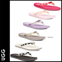 UGG Australia Casual Style Street Style Flip Flops Flat Sandals