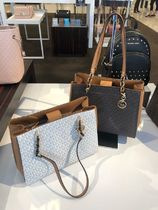 Michael Kors PVC Clothing Office Style Totes