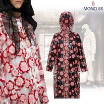 MONCLER Flower Patterns Casual Style Street Style Collaboration Long