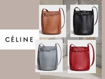 55f96372c5 CELINE Sangle Women s Black Shoulder Bags  Shop Online in US
