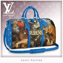 Louis Vuitton Unisex Canvas Boston & Duffles