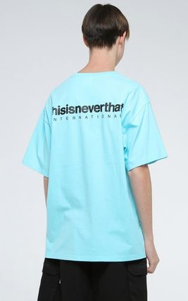 thisisneverthat More T-Shirts Unisex Street Style Cotton T-Shirts 3
