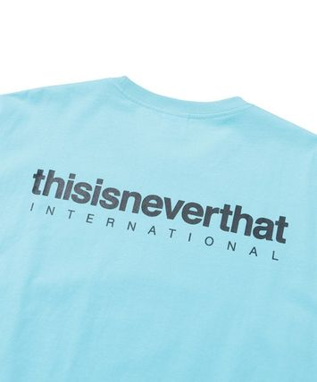 thisisneverthat More T-Shirts Unisex Street Style Cotton T-Shirts 5