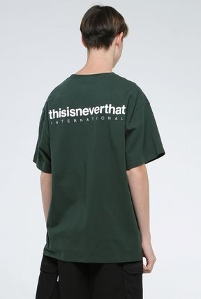 thisisneverthat More T-Shirts Unisex Street Style Cotton T-Shirts 9