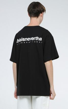 thisisneverthat More T-Shirts Unisex Street Style Cotton T-Shirts 17