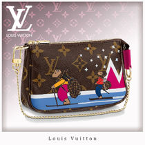 Louis Vuitton MONOGRAM Monogram Chain Leather Shoulder Bags