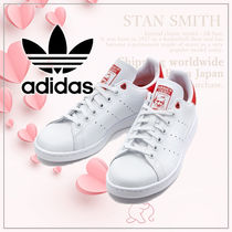 adidas STAN SMITH Casual Style Unisex Plain Low-Top Sneakers