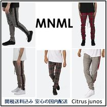MNML Tapered Pants Stripes Other Check Patterns Street Style