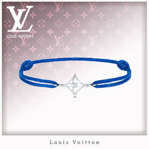 Louis Vuitton Casual Style Unisex 18K Gold Bracelets
