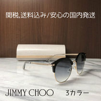 Jimmy Choo Unisex Round Sunglasses