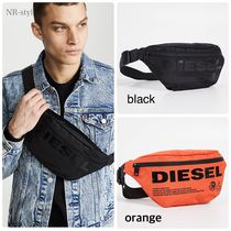 DIESEL Street Style Plain Hip Packs