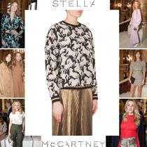 Stella McCartney Silk Street Style Long Sleeves Other Animal Patterns