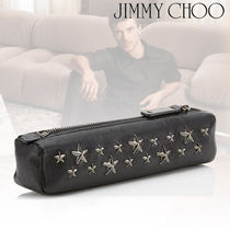 Jimmy Choo Star Studded Bag in Bag Plain Leather Bags