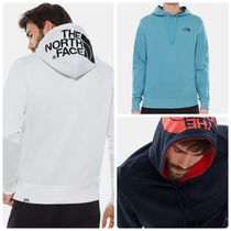 THE NORTH FACE Unisex Street Style Bi-color Long Sleeves Cotton Hoodies