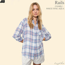 Ron Herman Other Check Patterns Casual Style Linen Long Sleeves Medium