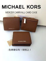 Michael Kors MERCER Leather Folding Wallets