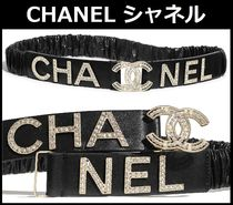 CHANEL TIMELESS CLASSICS With Jewels Elegant Style Belts