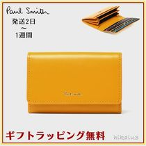 Paul Smith Flower Patterns Leather Card Holders