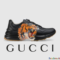 GUCCI Unisex Blended Fabrics Street Style Collaboration