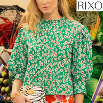 RIXO LONDON Flower Patterns Shirts & Blouses