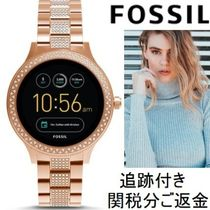Fossil Casual Style Unisex Blended Fabrics Street Style Round