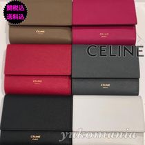 CELINE Leather Folding Wallets