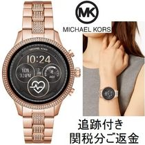 Michael Kors Casual Style Unisex Blended Fabrics Street Style Round