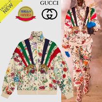 GUCCI Short Flower Patterns Other Animal Patterns Jackets