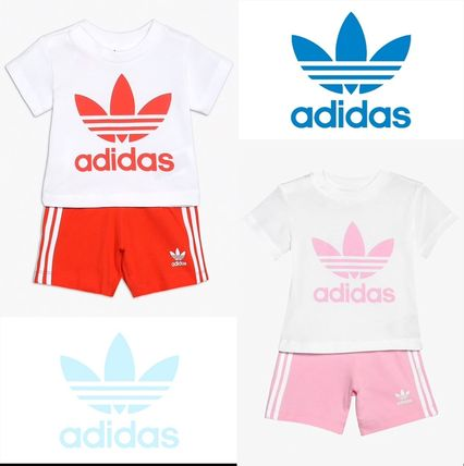 adidas 2019 SS Unisex Street Style Baby Girl Dresses & Rompers