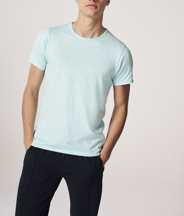 DSTREZZED Crew Neck Crew Neck Pullovers Plain Cotton Short Sleeves 3