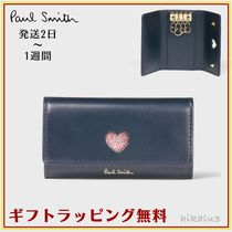 Paul Smith Heart Leather Keychains & Bag Charms