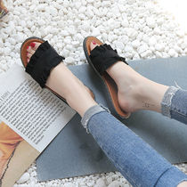 Open Toe Casual Style Plain Shoes