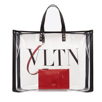 VALENTINO Casual Style Crystal Clear Bags Totes