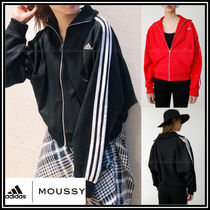 adidas Casual Style Collaboration Long Sleeves Plain Tops