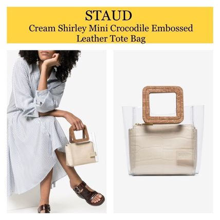 Crystal Clear Bags PVC Clothing Totes