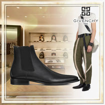 GIVENCHY Plain Leather Chelsea Boots Chelsea Boots
