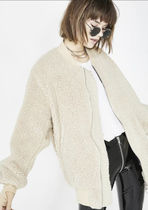 ASOS Casual Style Faux Fur Street Style Plain Jackets