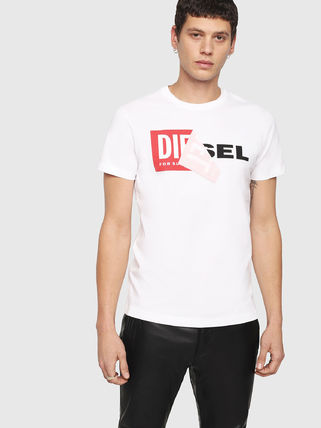 DIESEL More T-Shirts Crew Neck Short Sleeves T-Shirts 2