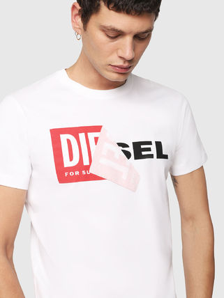 DIESEL More T-Shirts Crew Neck Short Sleeves T-Shirts 4