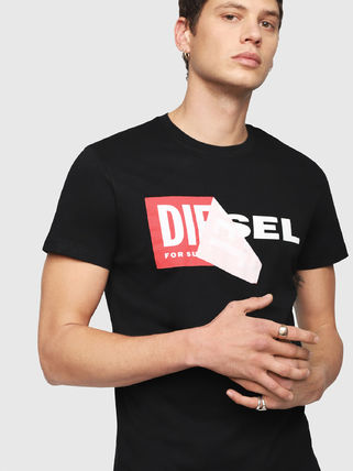 DIESEL More T-Shirts Crew Neck Short Sleeves T-Shirts 7