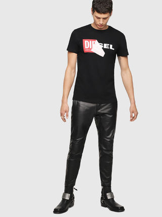 DIESEL More T-Shirts Crew Neck Short Sleeves T-Shirts 8