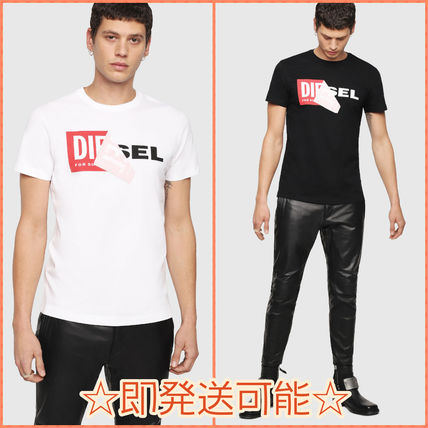 DIESEL More T-Shirts Crew Neck Short Sleeves T-Shirts