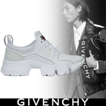 GIVENCHY Blended Fabrics Street Style Plain Leather Sneakers