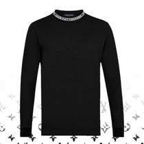 Louis Vuitton Long Sleeves Plain Cotton Long Sleeve T-Shirts