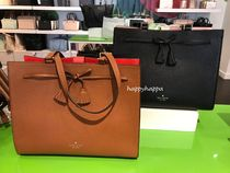 kate spade new york A4 Leather Totes
