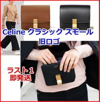CELINE Classic Calfskin 2WAY Plain Shoulder Bags