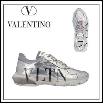 VALENTINO Street Style Plain Sneakers
