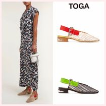 TOGA Platform Casual Style Plain PVC Clothing