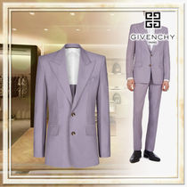 GIVENCHY Wool Plain Blazers Jackets